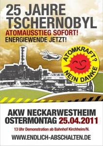 25. Tschernobyl-Jahrestag